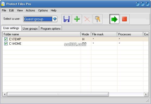 Protect Files Pro Screenshot