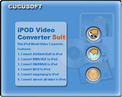 Cucusoft iPod Video Converter + DVD to iPod Suite Screenshot