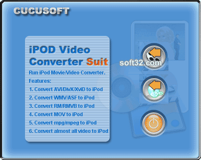 Cucusoft iPod Video Converter + DVD to iPod Suite Screenshot 3