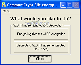 CommuniCrypt File Encryption Tools Screenshot 3