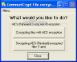 CommuniCrypt File Encryption Tools 3