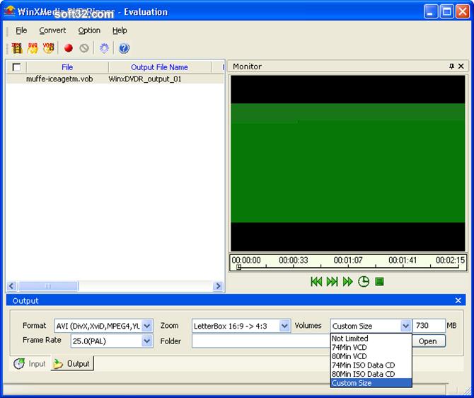 WinXMedia DVD Ripper Screenshot 4