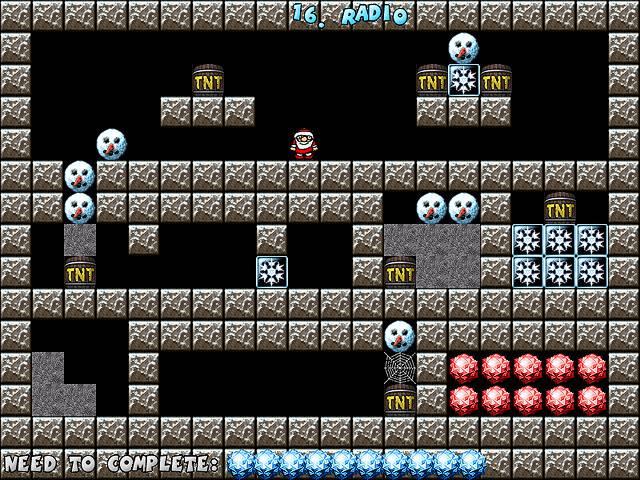 Crystal Cave Christmass Treasure Screenshot 1