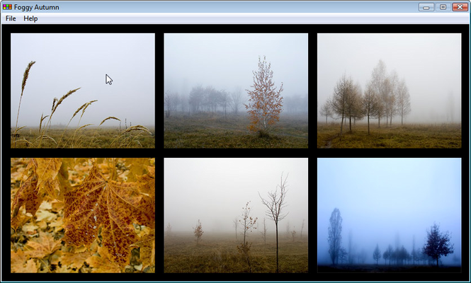 Atrise Foggy Autumn Screenshot