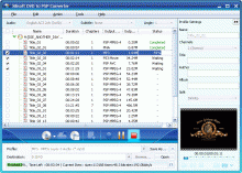 Xilisoft DVD to PSP Converter Screenshot