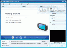 Xilisoft DVD to PSP Converter Screenshot 3