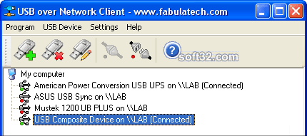 USB over Network Screenshot 2