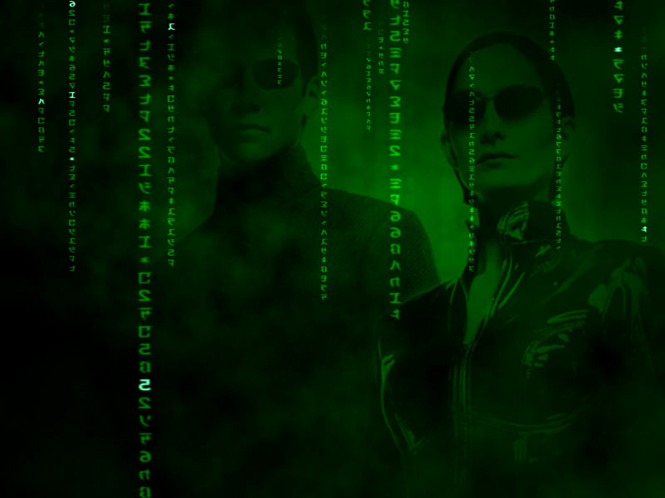 Matrix Reality 3D ScreenSaver Screenshot