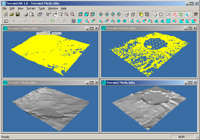 TerrainCAD Screenshot 3