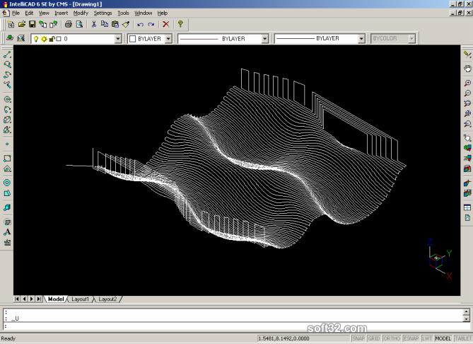 NC Import for IntelliCAD Screenshot 3