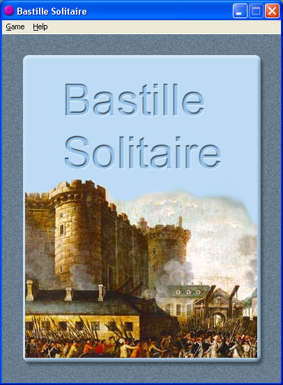 Bastille Solitaire Screenshot