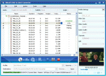 Xilisoft DVD to DivX Converter Screenshot