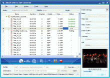 Xilisoft DVD to 3GP Converter Screenshot 1