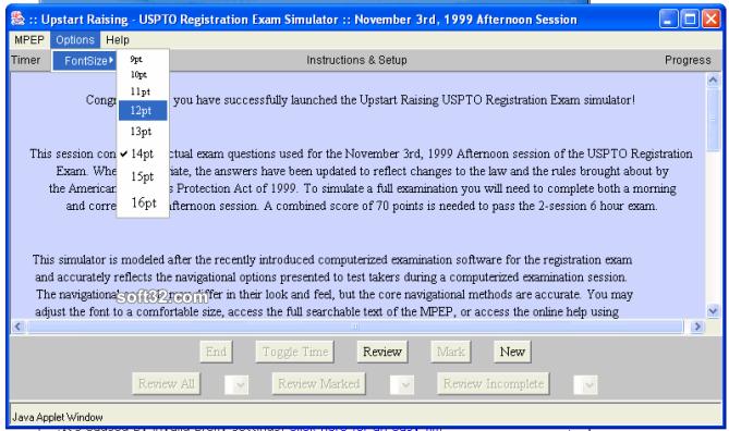 Patent Bar Simulator Screenshot 3