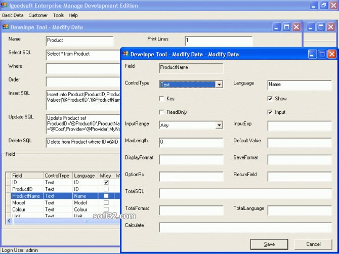 Igoodsoft Enterprise Development Edition Screenshot