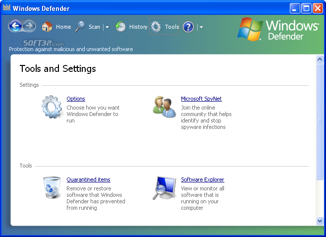 Microsoft Windows Defender Screenshot 3