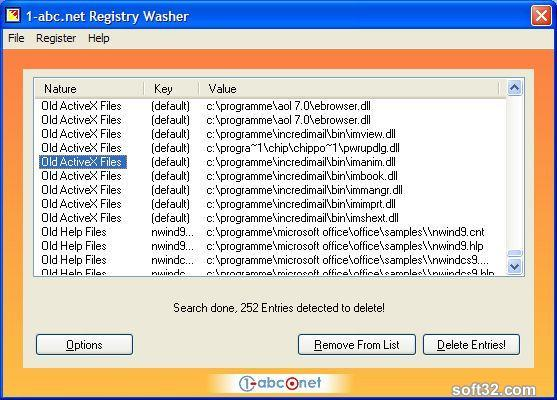 1-abc.net Registry Washer Screenshot 3