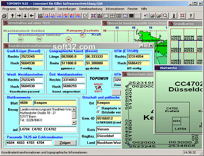 Register AMTLICHE TOPOGRAFISCHE KARTEN Screenshot 3