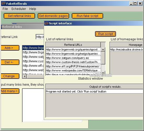 Log Advertiser Screenshot 2
