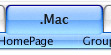Mac style menu for Dreamweaver Screenshot