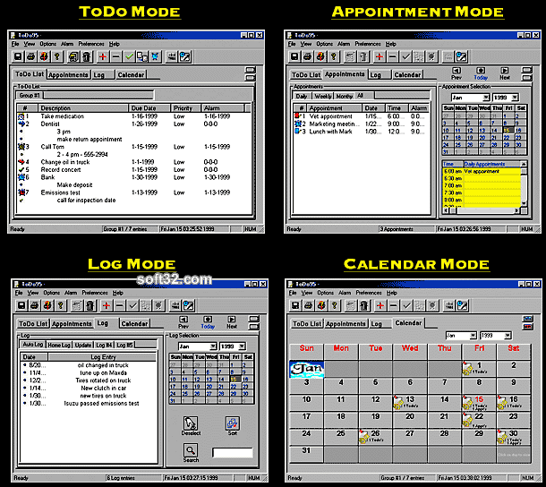 ToDo95 Screenshot 2