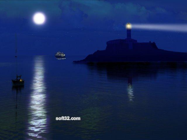 Free Sea Lighthouses 3D Screensaver Screenshot 1