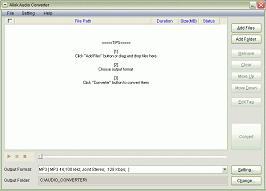 Allok Audio Converter Screenshot 1