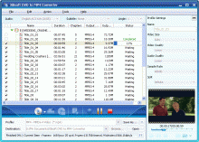 Xilisoft DVD to MP4 Converter Screenshot