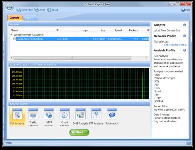 Colasoft Capsa Professional Screenshot 6