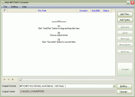 Allok MP3 WAV Converter Screenshot 1