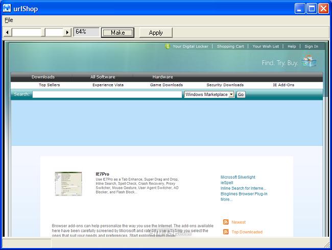 urlShop Screenshot 5
