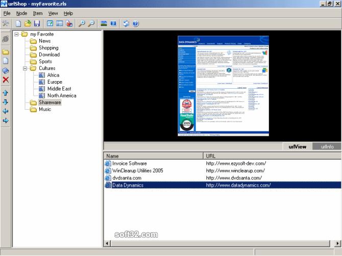 urlShop Screenshot 2