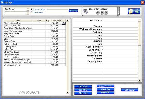 SetPicker Screenshot
