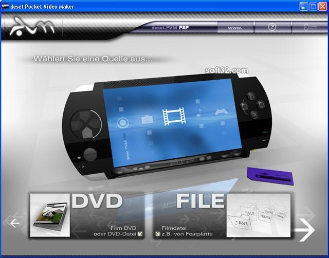 deset Pocket Video Maker - SONY PSP Screenshot