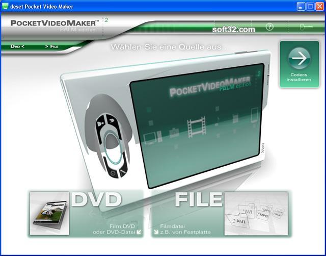 deset Pocket Video Maker - Palm Edition Screenshot 1
