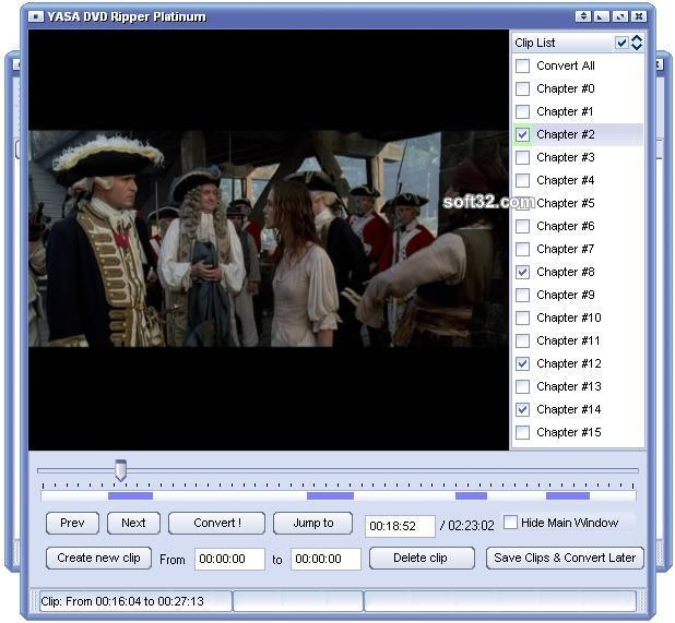 YASA DVD Ripper Platinum Screenshot 2