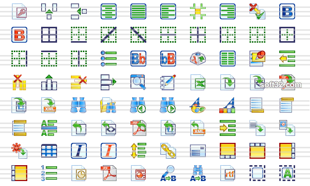 Word Preccessing Icon Collection Screenshot 2