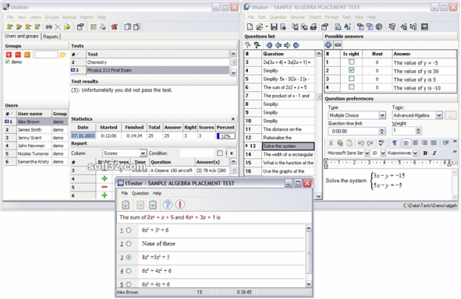 SunRav TestOfficePro Screenshot 2
