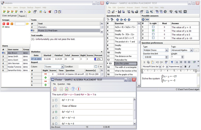 SunRav TestOfficePro Screenshot