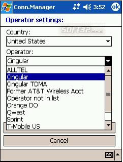 Pocket Connection Manager Screenshot 2