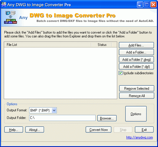 DWG to JPG Converter Pro Any Screenshot