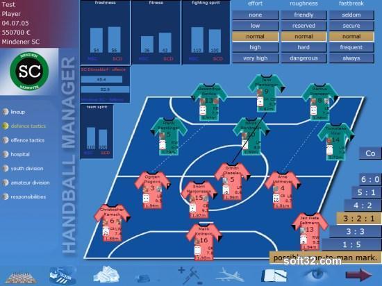 Handball Manager Screenshot 2