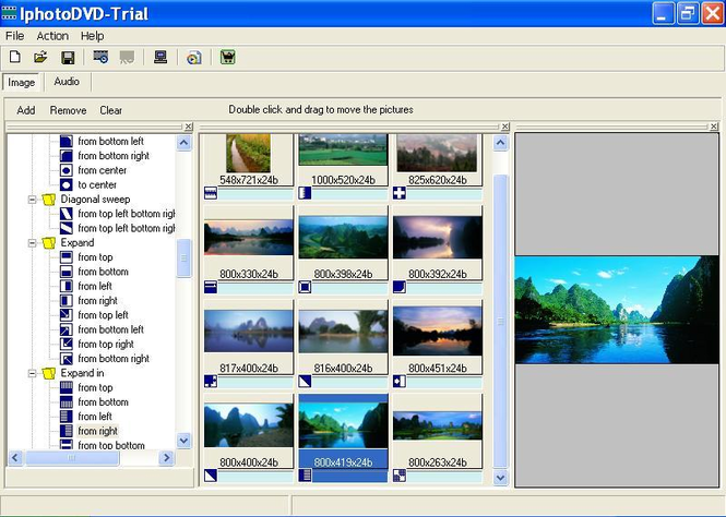 IphotoDVD Wizard Screenshot 1
