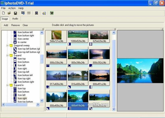 IphotoDVD Wizard Screenshot 2