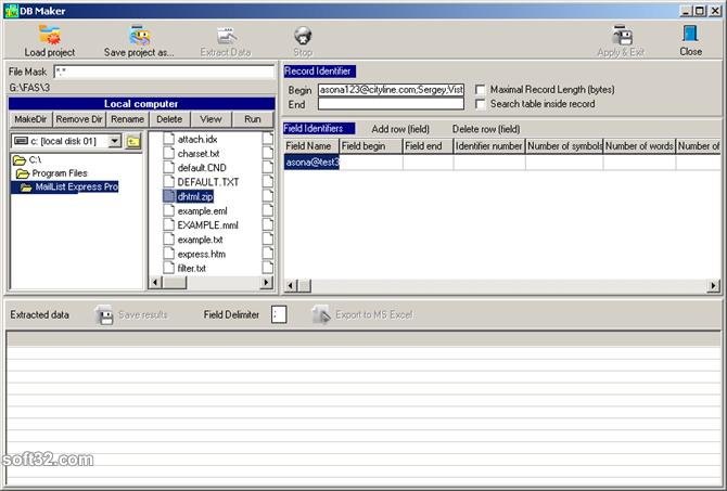 Mailing List Express Pro Screenshot 6