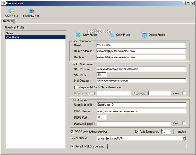 Mailing List Express Pro Screenshot 7