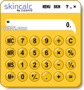 SkinCalc Screenshot 2