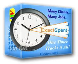 ExactSpent Time Tracking Software Screenshot 2