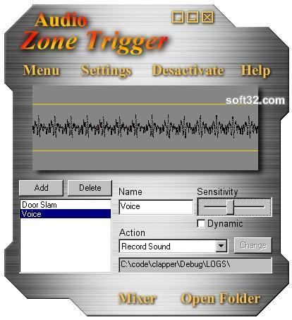 Audio Zone Trigger Screenshot 3