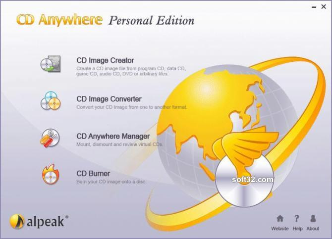 CD Anywhere Personal Edition Screenshot